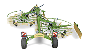 Twin Rotor Side Delivery Rakes