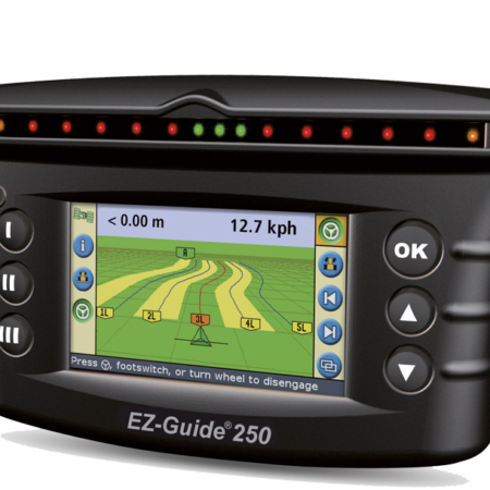 EZ-GUIDE® 250 DISPLAY Get on and go simplicity