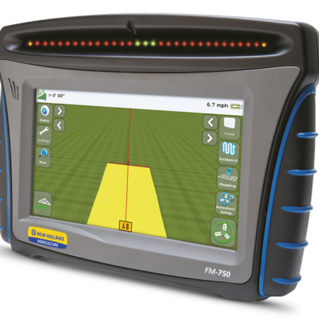 FM-750 DISPLAY The cornerstone of guidance, capable of 2.5cm accuracy