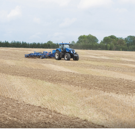 INTELLISTEER™ SYSTEM Fully Integrated New Holland Autoguidance