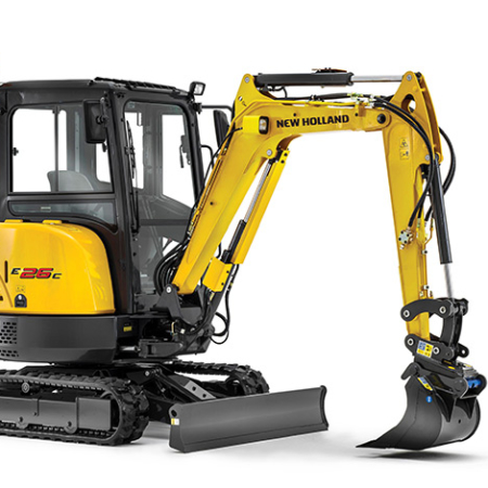 Compact Excavators - C-Series E26C