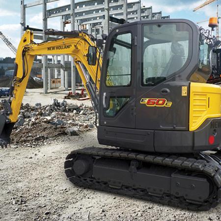 Compact Excavators - C-Series E60C